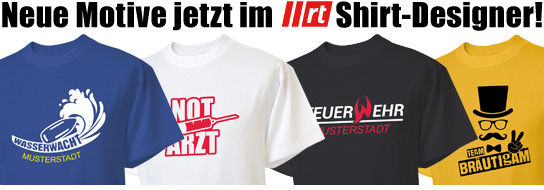 hot sale online 0c533 d83a9 Dein individuelles Feuerwehr T-Shirt mit dem Shirt-Designer ...