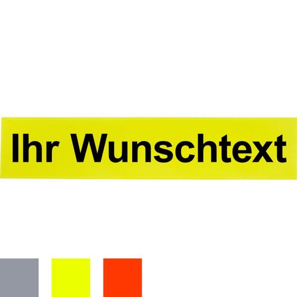 Reflexschild für Faltsignale, 500 x 100 mm