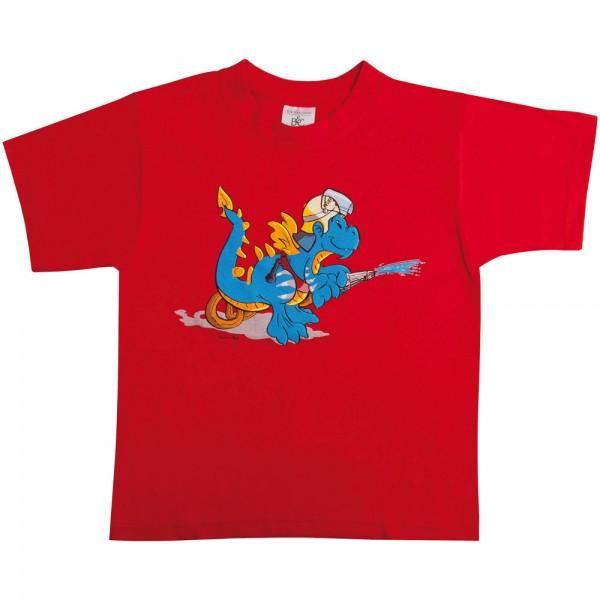 Kinder-T-Shirt Feuerwehr-Drache Florian