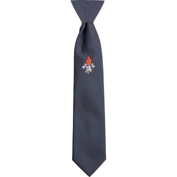 Uniformkrawatte mit Feuerwehremblem