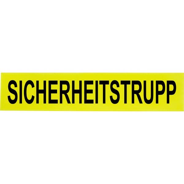 rescue-tec Reflex-Rückenschild SICHERHEITSTRUPP