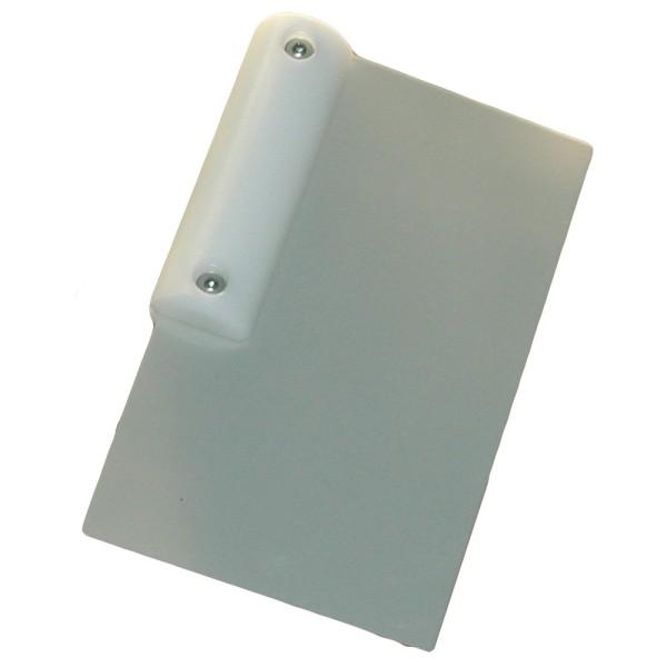 Türfallenkarte, Griff weiß, Karte 0,3 mm