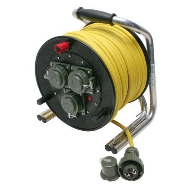 Vollgummi-Leitungsroller 230 V