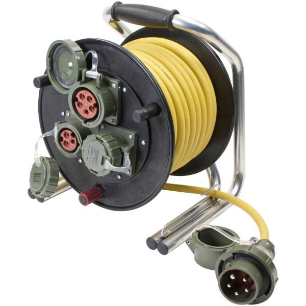Vollgummi-Leitungsroller 230 V/400 V