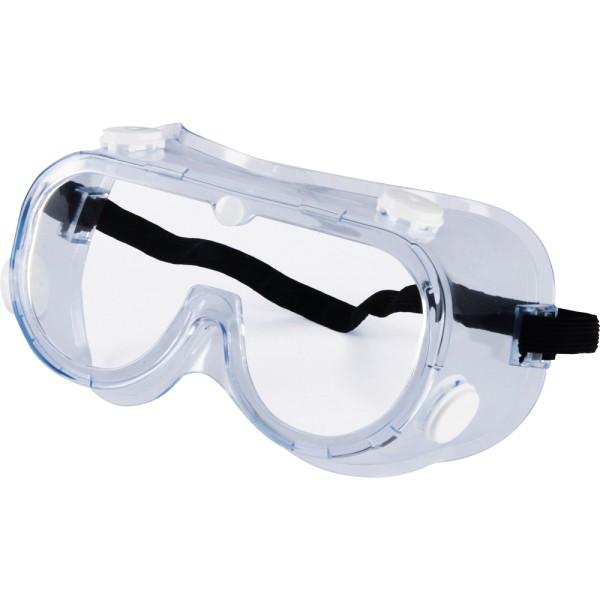 Schutzbrille mit Gummiband und Belüftung