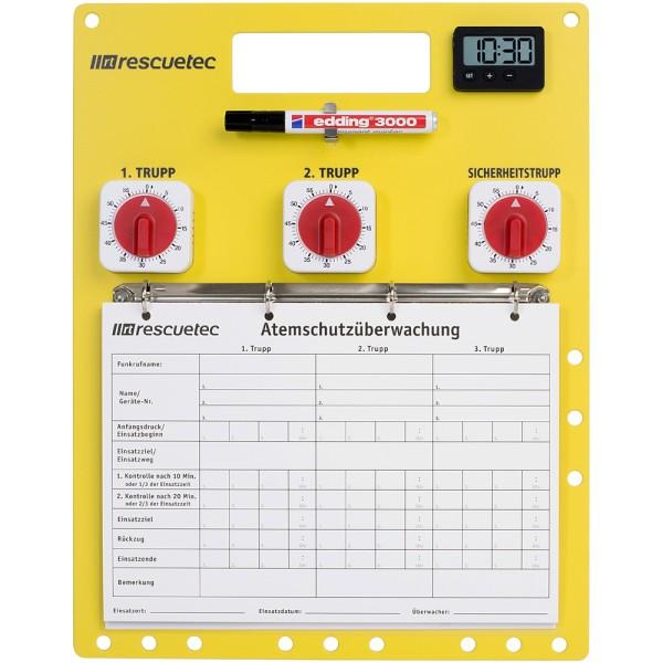 rescue-tec Atemschutzüberwachungstafel Gießen