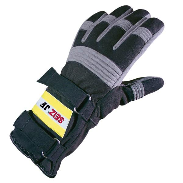 SEIZ JF Jugendfeuerwehrhandschuh, schwarz-grau