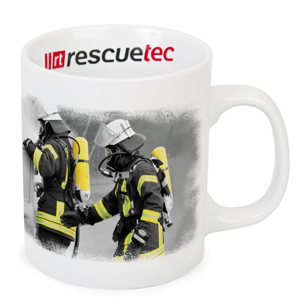 rescue-tec Tasse Feuerwehreinsatz