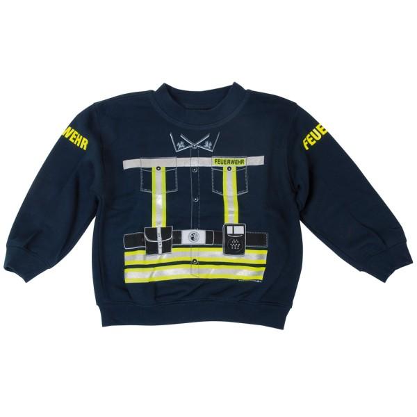 Kinder-Sweatshirt Feuerwehr