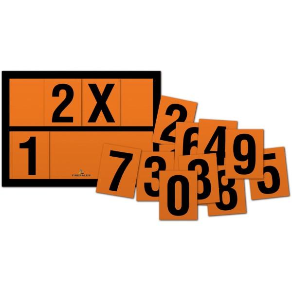 Übungsset ADR Zahlen, magnetisch