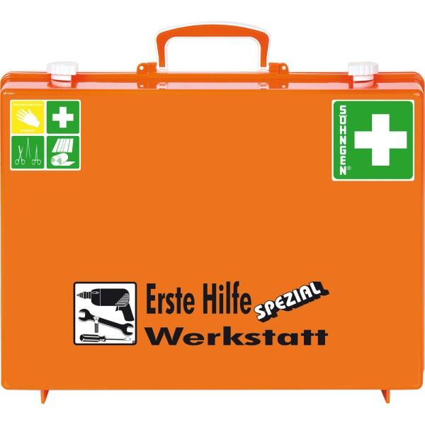 Erste-Hilfe-Koffer Werkstatt