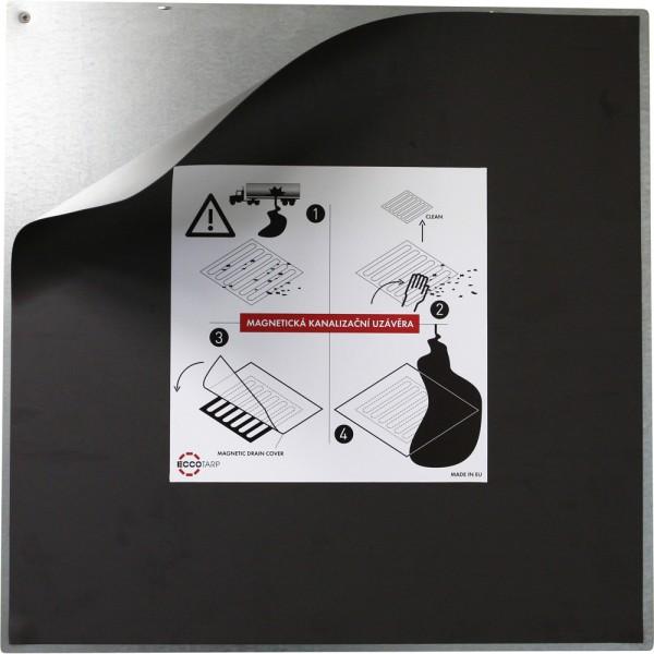 Eccotarp Magnetische Gully-Abdeckung