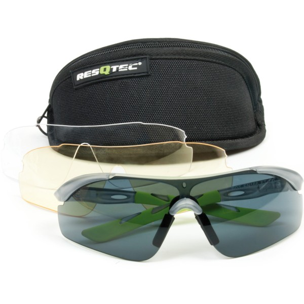 RESQTEC Zumro Schutz- und Sonnenbrille Premium