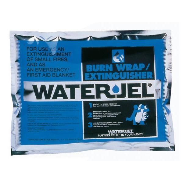 Water Jel Rettungsdecke, mittel, steril