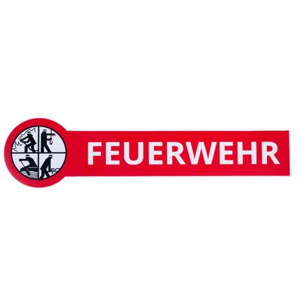 DFV FEUERWEHR - Aufkleber außenklebend