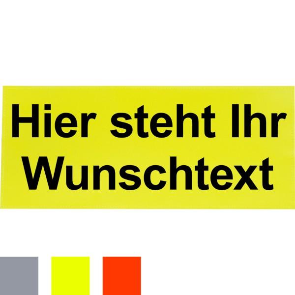 rescue-tec Reflex-Rückenschild, 380 x 160 mm