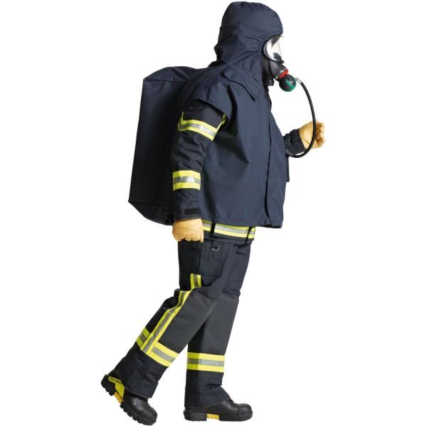 S-GARD Feuerwehr Schutzponcho, dunkelblau