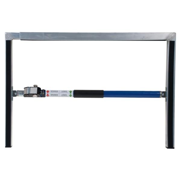 Rahmen komplett für mobilen Rauchverschluss