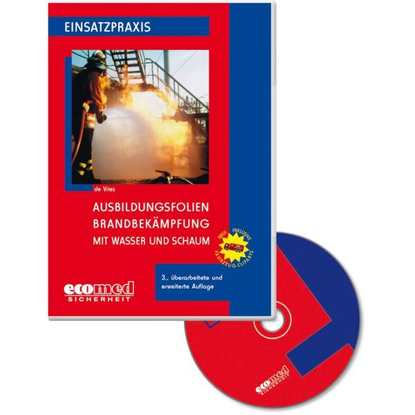 Brandbekämpfung mit Wasser & Schaum