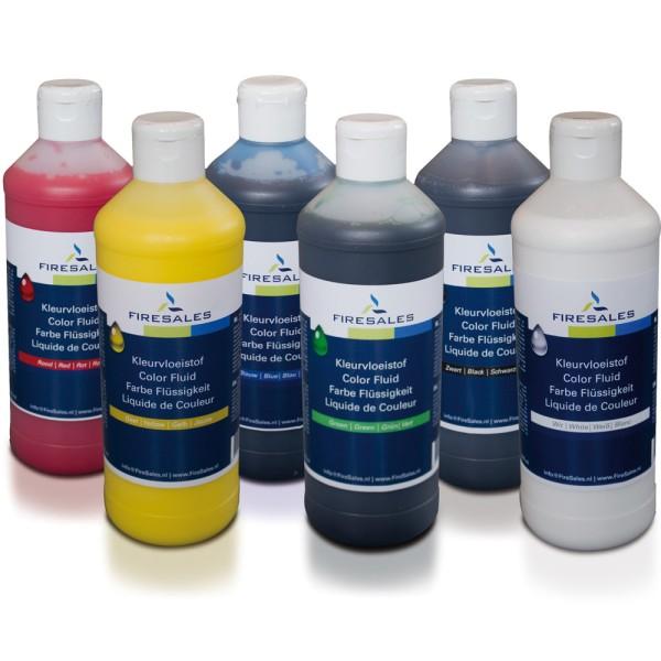 FireSales Übungsfarbe chemische Flüssigkeit