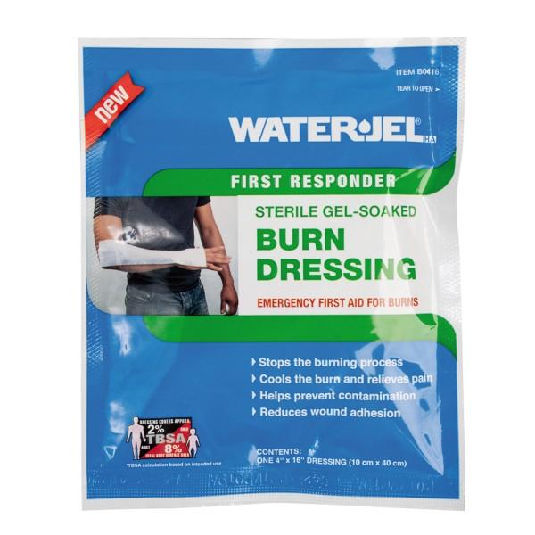 Water Jel Verband 10 x 40,5 cm, steril