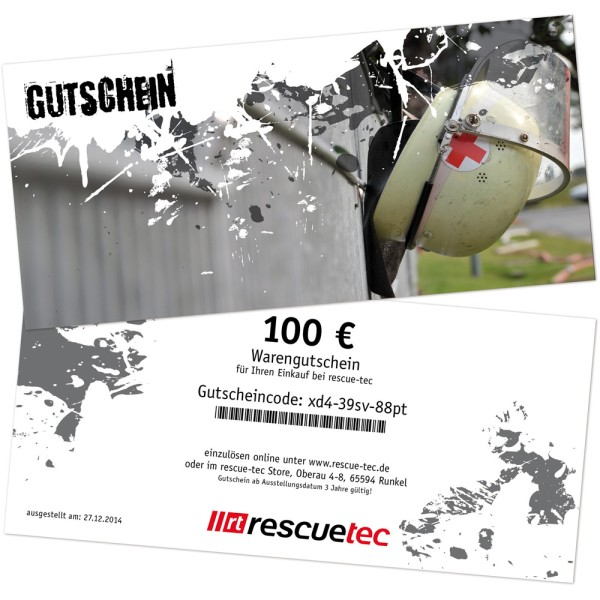 Voucher for printing, theme rescue service 2