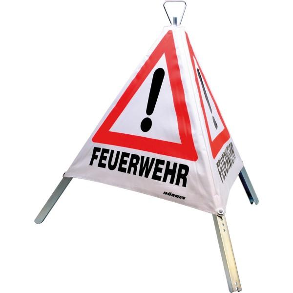 """Faltsignal """"FEUERWEHR"""", 90 cm"""