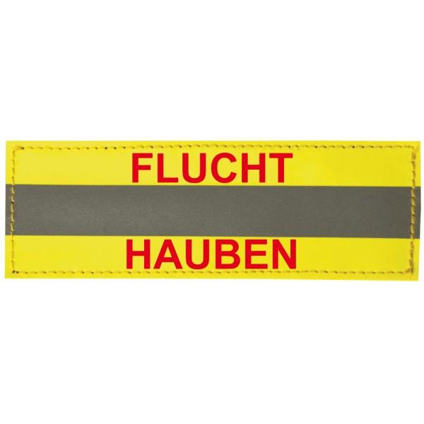 """rescue-tec Kennzeichnungsschild """"Fluchthauben"""""""