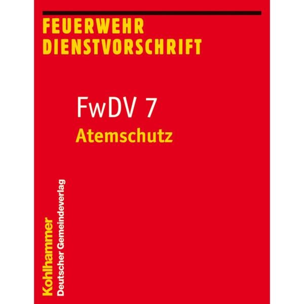 FwDV 7 Atemschutz