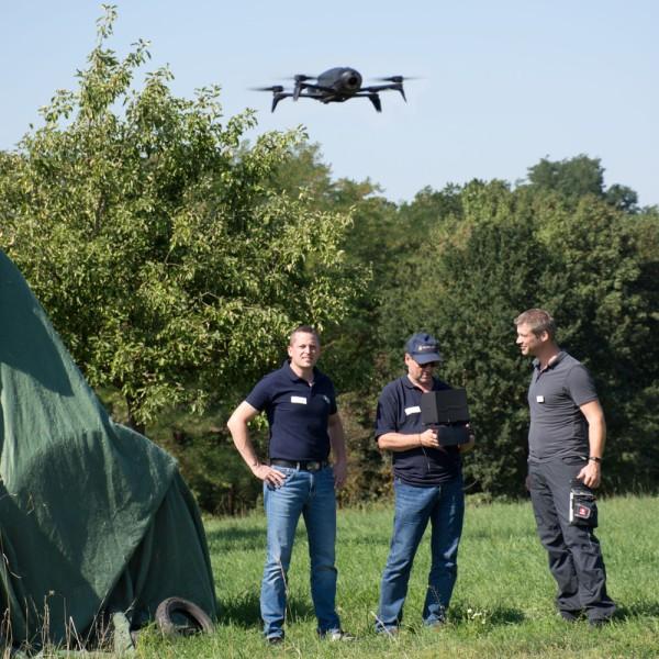 Workshop Drohnen im Feuerwehreinsatz