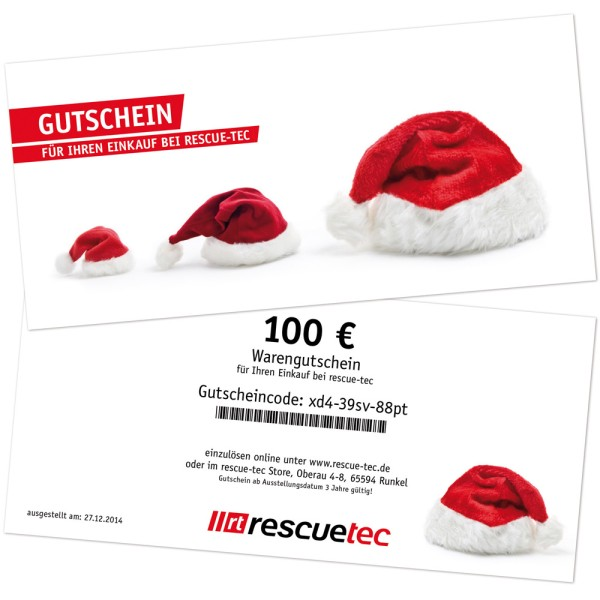 Voucher for printing, theme Christmas