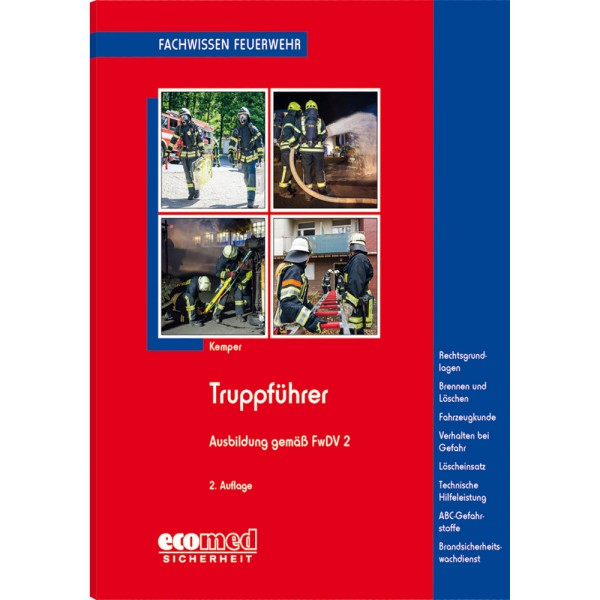 Truppführer - Ausbildung gem. FwDV2