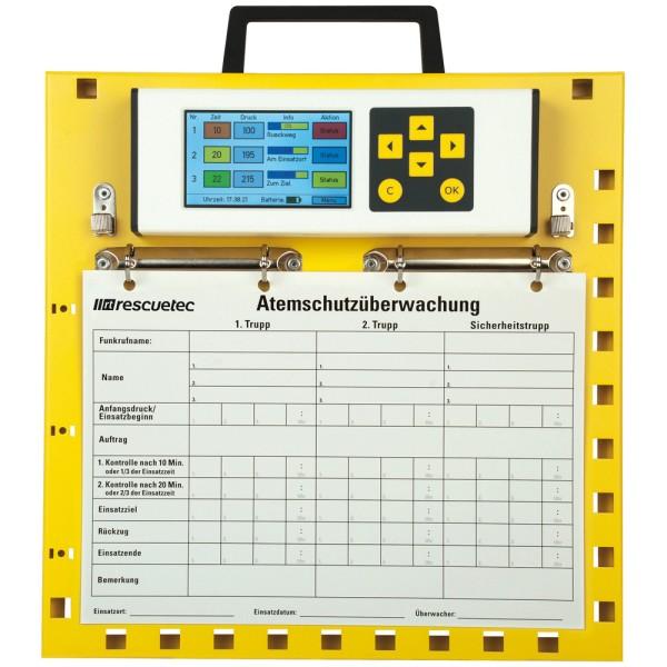 rescue-tec Atemschutzüberwachungstafel atur-D