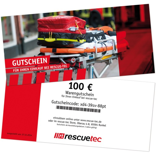 Voucher for printing, theme rescue service 1