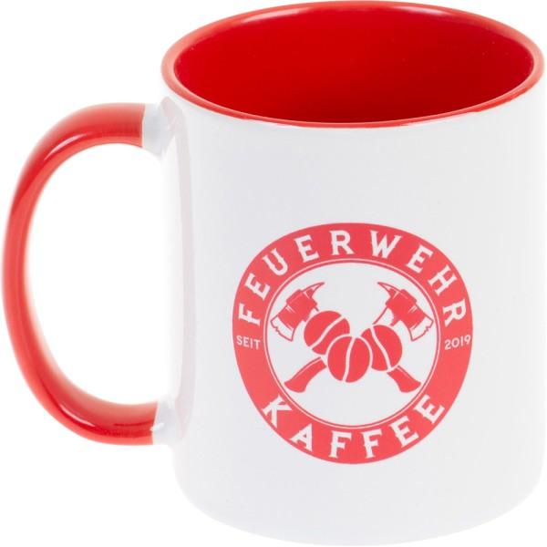 Tasse Feuerwehrkaffee