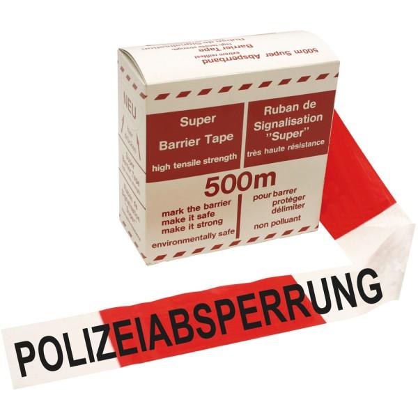 Absperrband Polizeiabsperrung